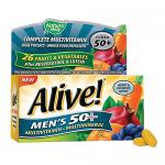 Alive Mens 50+ Multivitamin Mineral