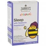 Childrens Sleep with Melatonin