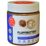 Cocoa Glazed Cinnamon Roll Peanut Fluffbutter