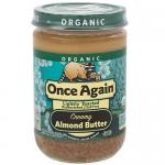 Organic Almond Butter Lightly Toasted Creamy