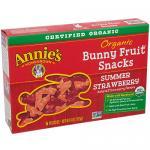 Organic Bunny Fruit Snacks Summer Strawberry