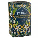 Organic Chamomile,Vanilla Manuka Tea