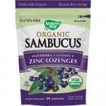 Organic Sambucus Zinc Lozenges