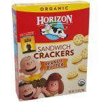 Organic Sandwich Crackers Peanut Butter