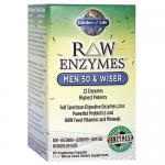 Raw Enzymes For Men 50 Wiser